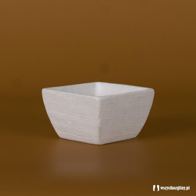 Doniczka Donica Ceramiczna Kwadratowa Niska Wyroby Z Gliny